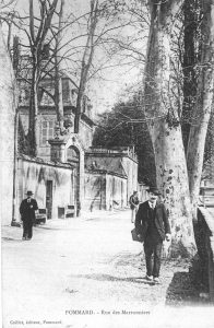 Rue Marey-Monge, Pommard, Château de Pommard