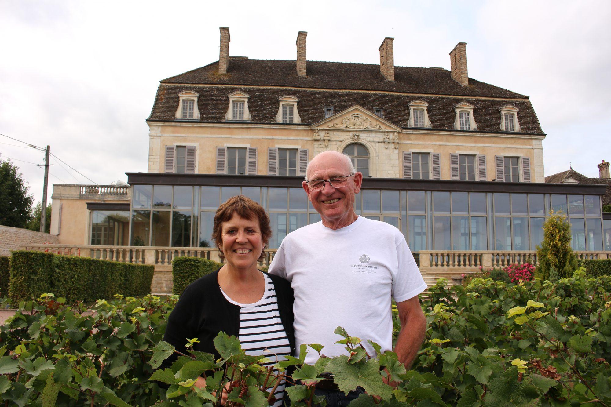 Château de Pommard Harvest 2017